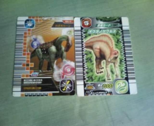 恐竜キングのカード  < トレーディングカードの
