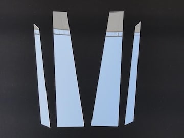クロームメッキ超鏡面ピラーモール カイエン 9PA系