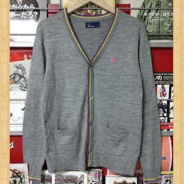 購入22000円 FRED PERRY フレッドペリー カーディガン M 美品 ヒットユニオン