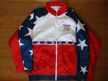 90年代〜 USA オリンピック ジャケット USA−XL