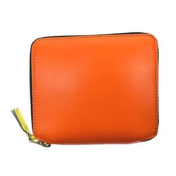 ◆新品本物◆コムデギャルソン SUPER FLUO 2つ折財布(L.OR)SA2100SF◆