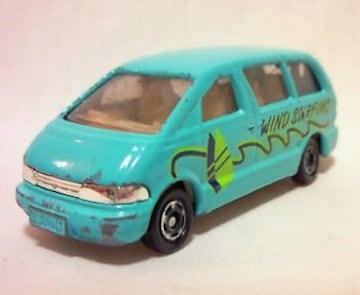絶版トミカ��99 エスティマ WIND SURFIN レジャーカーs