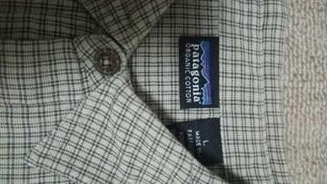 パタゴニア  チェックシャツ  アウトドア