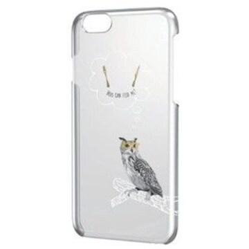 ☆ELECOM iPhone6 6s 対応 シェルカバー ハングリーバード