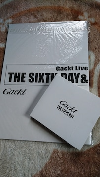 GACKTツアーパンフレット,DVD,CDセット