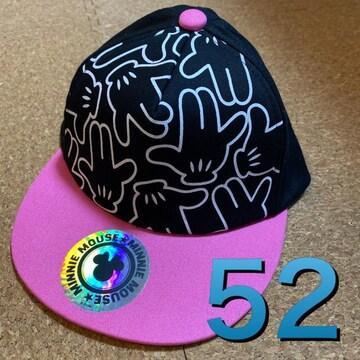 新品タグ付き52cm帽子キャップ ディズニーミニー