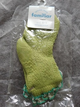 滋賀familiar靴下女の子11cm-13.5cmファミリア