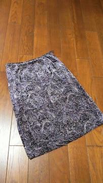【美品即決】専門店◆日本製◆上質秋冬ベルベット◆洗練スカート