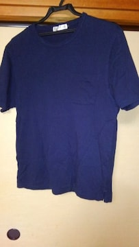 ポケット付き【中古】Tシャツ L 綿100%