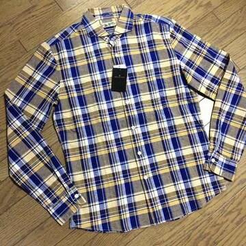 新品NANO UNIVERSE チェックシャツ ナノユニバース