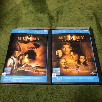 即決 Blu-ray ハムナプトラ 2枚セット ブルーレイ レンタル落ち
