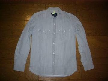 nonnativeノンネイティブシャンブレーシャツ1薄手加工灰系