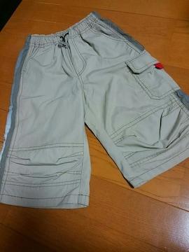☆美品☆ベージュ半ズボン☆110