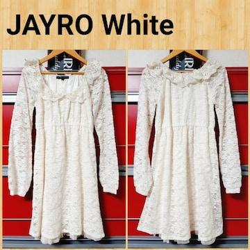 JAYRO White ジャイロホワイト ワンピース M ジュン