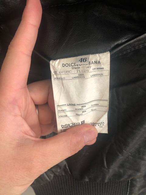 確実正規品 ドルガバ ドルチェ&ガッバーナ レザージャケット < ブランドの
