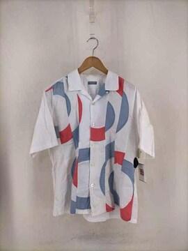 COMME des GARCONS HOMME(コムデギャルソンオム)再構築 開襟シャツシャツ