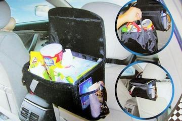 車内で便利 収納式マルチファンクションオーガナイザ