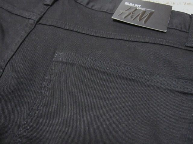 □H&M/エイチアンドエム スリムフィット パンツ/メンズ・29☆新品 < ブランドの