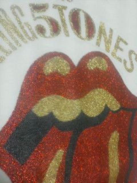 送料無料 ローリングストーンズ 映画クロスファイヤーハリケーン前売り券付属Tシャツ 新品  < タレントグッズの
