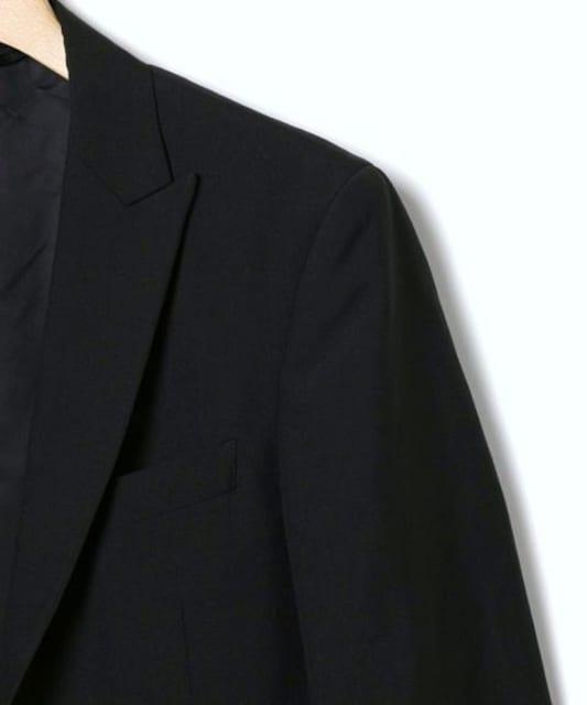 □SHIPS JET BLUE/シップス ウール セットアップスーツ/メンズ/M < ブランドの