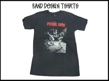 新品 Pearl Jam パールジャムバンド デザイン T-シャツ