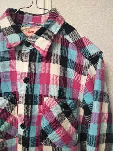 ◆DENIM&DUNGAREE◇デニム&ダンガリー◆チエックシャツ < ブランドの
