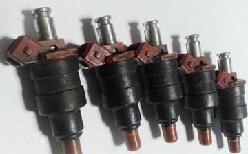 日産 スカイライン RB20DET純正インジェクター5本中古品
