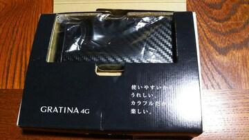 新品購入後、未契約、自宅保管、au.GRATINA.4G .!箱入り!