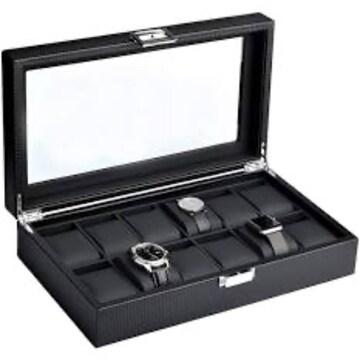 12本収納 SOUKENGEN 腕時計収納ケース 収納ボックス コレクショ