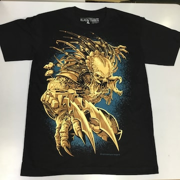 デザインTシャツ Mサイズ プレデター PREDATOR �A BSET3