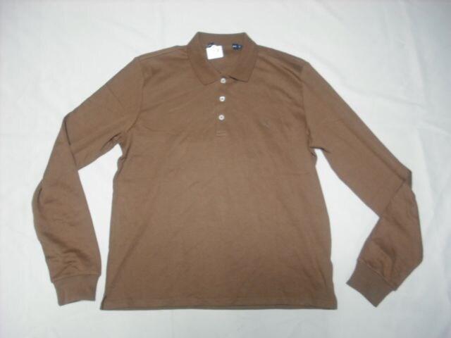 7 女 ラルフローレン 茶 ポロシャツ L  < ブランドの