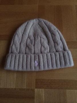 キッズ☆ラルフローレン polo☆ニット帽 帽子☆ベージュ