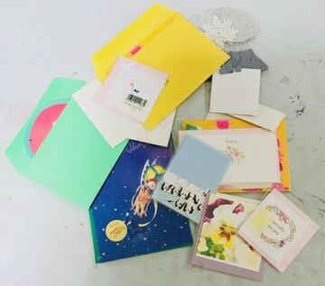 新品/メッセージカード詰め合わせ/クリスマス/クリックポスト