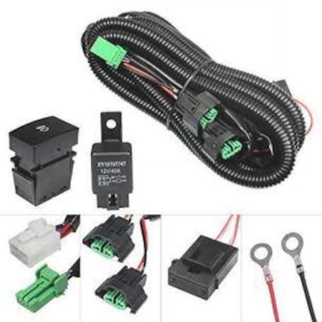 YUNPICAR H8/H11/H16 フォグランプ配線 H8/H11/H16 HID/LED対応 < 自動車/バイク