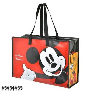 《New》ミッキーマウス&ミニーマウスと仲間達★大容量・ショルダーバッグ<レッド>