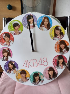 A K B 48の壁掛け時計
