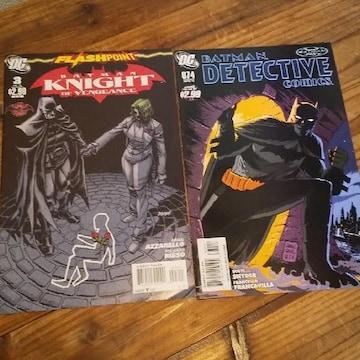 古本 DCコミック BATMAN バットマン 2冊