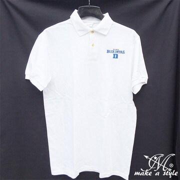 訳あり品 デューク ブルーデビルズ ポロシャツ 半袖 424 M