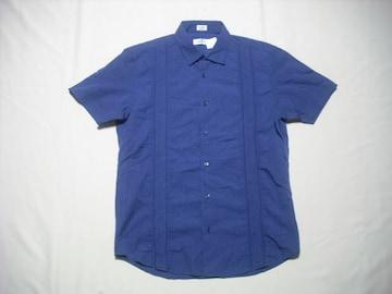 57 男 CK CALVIN KLEIN カルバンクライン ストライプシャツ M