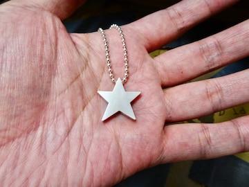 仁尾彫金『スターペンダント3バチカン無し』ハンドメイド152