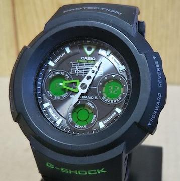 CASIO G-SHOCK AWG-M500F 電波 ソーラー アナデジ 腕時計
