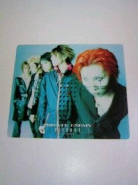 PRIVATE ENEMY カード / V系 ヴィジュアル系バンド PIERROT ピエロ グッズ