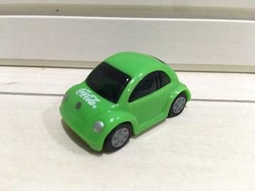 プルバックミニカー VW フォルクスワーゲン コカ・コーラ コカコー ラチョロQ グリーン 黄緑