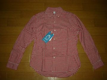 新品 KATO' カトー チェックシャツ S赤系 ギンガム定価半額以下
