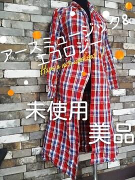 ガウン風ロングシャツ アースミュージック&エコロジー