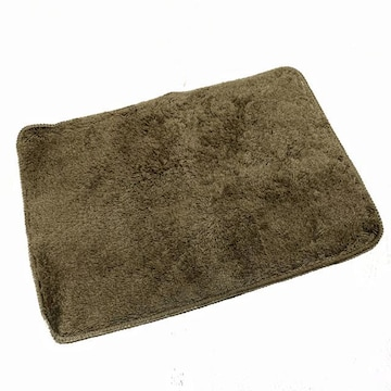 【NEW】滑り止め付き バスマット/36.5×50.5cm/ブラウン