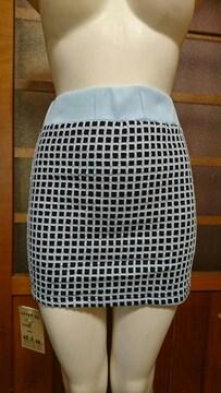 d.i.a/ダイア チェック柄 ミニスカート