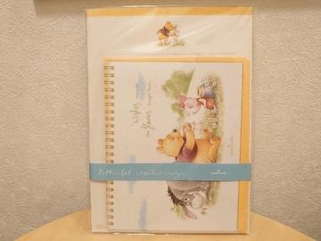 新品未使用レターセット★くまのプーさん(ホールマーク)
