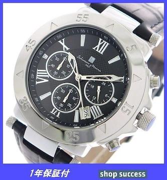 新品 即買い■サルバトーレマーラ クロノ 腕時計 SM8005S-SSBK