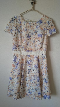 LAISSE PASSE★レッセパッセ☆花柄☆ワンピース☆
